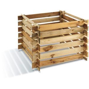 un bac a compost en bois